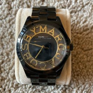 Marc by Marc Jacobs MBM3255 Watch - Black/Gold